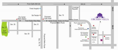 Project Image of 0 - 1450.0 Sq.ft 3 BHK Duplex for buy in NCR Orchid Villa