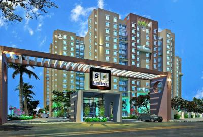 Gallery Cover Image of 1600 Sq.ft 3 BHK Apartment for rent in Laurel Heights, Jalahalli West for 23000