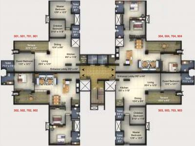 Project Image of 1755 Sq.ft 3 BHK Apartment for buyin Pashan for 17700000