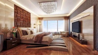 Gallery Cover Image of 2760 Sq.ft 4 BHK Apartment for rent in Ajmera Zeon, Wadala East for 142000