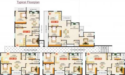 Project Image of 1220 - 1850 Sq.ft 2 BHK Apartment for buy in Surya Saketh Classic
