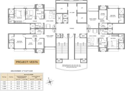 Project Image of 0 - 423.0 Sq.ft 1 BHK Apartment for buy in Hiranandani Vesta