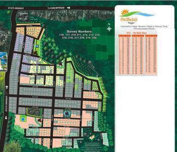Residential Lands for Sale in SVP RPG Sri Balaji