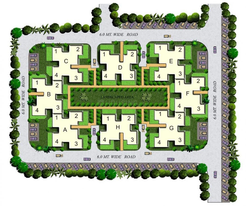 Project Image of 850.0 - 1280.0 Sq.ft 2 BHK Apartment for buy in Dhingra Gemini Grove