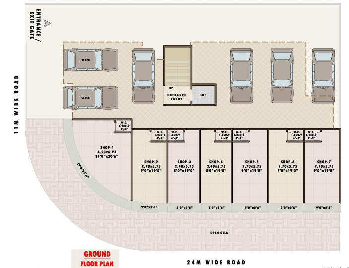 Project Image of 188.69 - 306.18 Sq.ft 1 RK Apartment for buy in Dadan Elanza