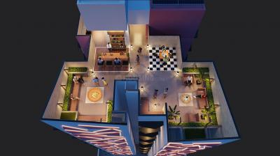 Project Image of 420.0 - 617.0 Sq.ft 1 BHK Apartment for buy in Modispaces Volga