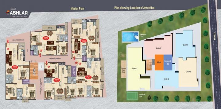 Project Image of 1140.0 - 1400.0 Sq.ft 2 BHK Apartment for buy in Accent Ashelar