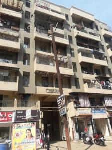 Gallery Cover Image of 630 Sq.ft 1 BHK Apartment for rent in Om Sai Cherry Residency D Wing, Nalasopara West for 7500