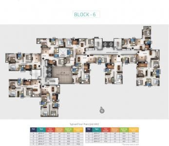 Project Image of 852.0 - 1622.0 Sq.ft 2 BHK Apartment for buy in Heritage Windmere Phase II