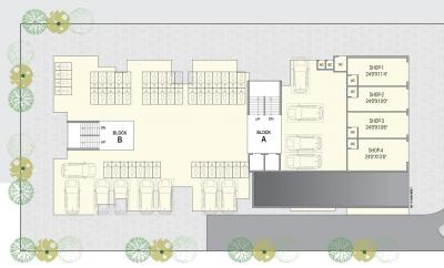 Project Image of 539.7 - 553.37 Sq.ft 2 BHK Apartment for buy in Prayag Residency