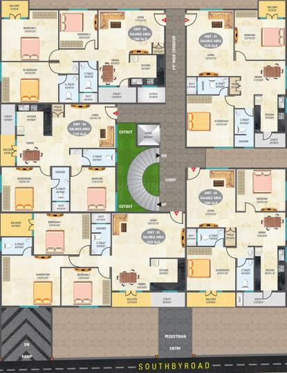 Project Image of 1135.0 - 1555.0 Sq.ft 2 BHK Apartment for buy in 5 Elements Eshwaree Orchids