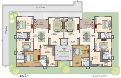 Gallery Cover Image of 5300 Sq.ft 5 BHK Independent House for buy in Shanti Melrose Park, Neelankarai for 67000000