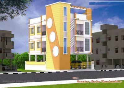 Project Image of 0 - 865.0 Sq.ft 2 BHK Apartment for buy in Guna Pallavaram Flats
