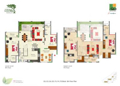 Gallery Cover Image of 1590 Sq.ft 3 BHK Apartment for rent in SNN Raj Greenbay, Electronic City Phase II for 26000