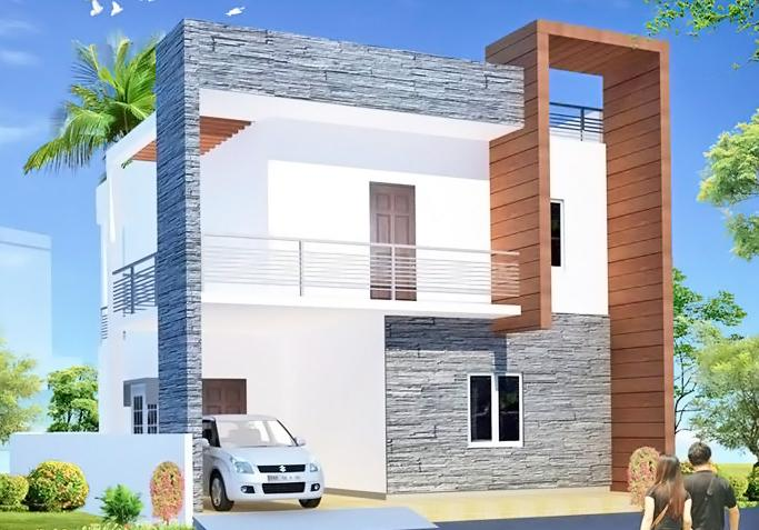 Project Image of 0 - 2050 Sq.ft 3 BHK Villa for buy in Esskay Queens Villas