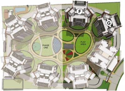 प्राइड पर्पल पार्क आइवरी फेज II में खरीदने के लिए 688.0 - 1292.0 Sq.ft 2 BHK अपार्टमेंट प्रोजेक्ट  की तस्वीर