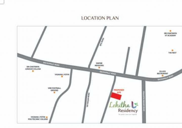 Project Image of 868 - 1170 Sq.ft 2 BHK Apartment for buy in Lohita Residency