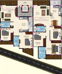 Project Image of 1050.0 - 1320.0 Sq.ft 2 BHK Apartment for buy in Supreme Vbs Homes