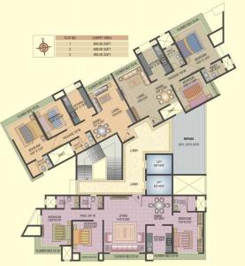 Project Image of 370.0 - 985.0 Sq.ft 1 BHK Apartment for buy in Ashwamedh Ashwa Platinum