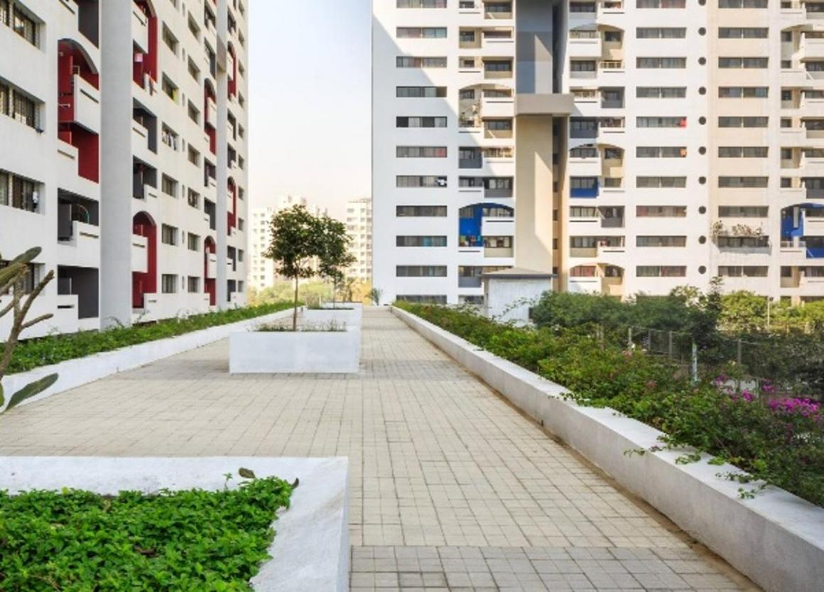 Project Image of 423.78 - 521.94 Sq.ft 2 BHK Apartment for buy in Kumar Pebble Park Khushi 2 D2
