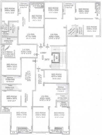 Project Image of 451.0 - 1034.0 Sq.ft 1 BHK Apartment for buy in Sree Vinayak Plaza
