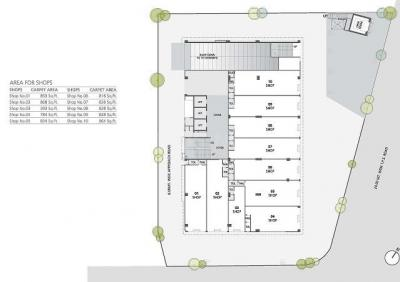 Project Image of 393 - 1485 Sq.ft Shop Shop for buy in Zaveri 31 Five