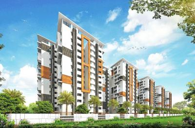 Gallery Cover Image of 1240 Sq.ft 2 BHK Apartment for rent in Tellapur for 27000