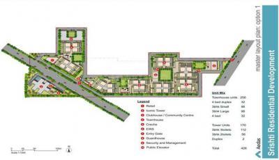 रहेजा सृष्टि में खरीदने के लिए 1695 - 3100 Sq.ft 3 BHK अपार्टमेंट प्रोजेक्ट  की तस्वीर