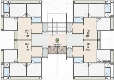 Project Image of 678.88 - 778.98 Sq.ft 3 BHK Apartment for buy in Deep The Crest