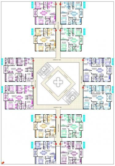 Project Image of 1163 Sq.ft 2 BHK Apartment for rentin Kadubeesanahalli for 30000