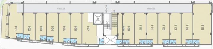 Project Image of 124.0 - 578.0 Sq.ft Shop Shop for buy in Gala Hub ANX