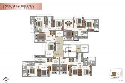 Project Image of 950 Sq.ft 3 BHK Apartment for buyin Borivali West for 18500000
