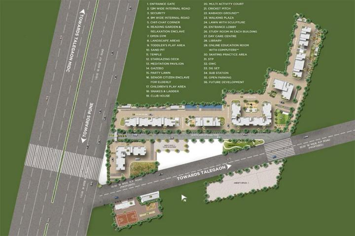 Project Image of 227.0 - 473.0 Sq.ft Studio Studio Apartment for buy in Vascon Goodlife
