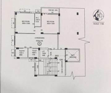 Project Image of 515.0 - 1190.0 Sq.ft 1 BHK Apartment for buy in Palki Apartment