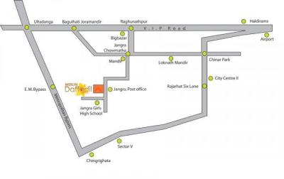 Project Image of 926.0 - 1054.0 Sq.ft 2 BHK Apartment for buy in Merlin Daffodil