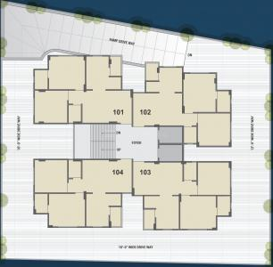Project Image of 392.13 - 540.56 Sq.ft 2 BHK Apartment for buy in Paras Luxuria