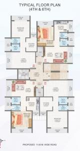 Project Image of 310.0 - 360.0 Sq.ft 1 BHK Apartment for buy in Mass Residency