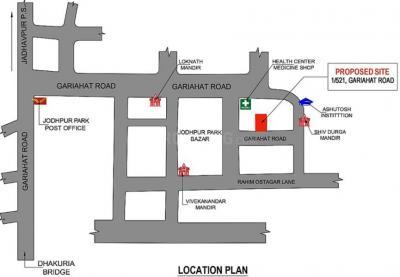 2000 Sq.ft Residential Plot for Sale in Jodhpur Park, Kolkata