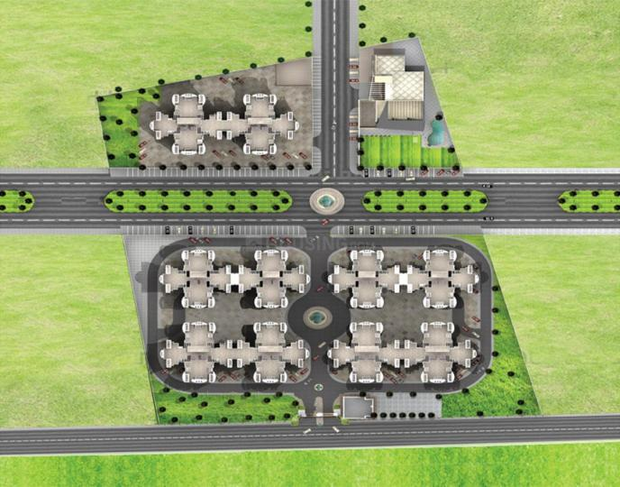 Project Image of 1050 - 1350 Sq.ft 2 BHK Apartment for buy in Pushpanjali Habitat