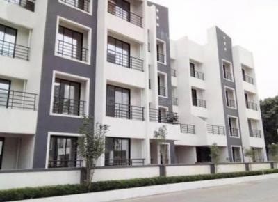 Gallery Cover Image of 625 Sq.ft 1 RK Apartment for rent in Qualcon Greenwood Estate, Taloje for 5000