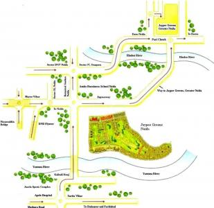 Gallery Cover Pic of Jaypee Wish Town Plots