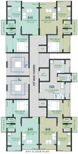 Project Image of 115.0 - 296.0 Sq.ft 1 RK Apartment for buy in Gajora The Palm Oak
