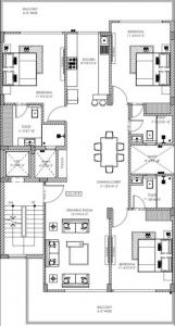 Project Image of 0 - 1570.0 Sq.ft 3 BHK Apartment for buy in NXT Floors