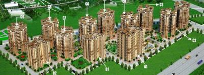 Gallery Cover Image of 1304 Sq.ft 2 BHK Apartment for rent in SRS SRS Residency, Sector 88 for 15000