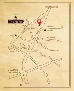 Gallery Cover Image of 1563 Sq.ft 3 BHK Apartment for buy in Keventer The North, Kashipur for 10500000