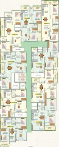 Gallery Cover Image of 996 Sq.ft 2 BHK Apartment for rent in Green Meadows, Balagere for 20000
