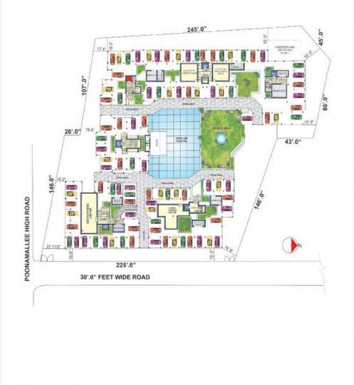 जमल्स जमल्स ग्रैन्डूर में खरीदने के लिए 940 - 1345 Sq.ft 2 BHK अपार्टमेंट प्रोजेक्ट  की तस्वीर