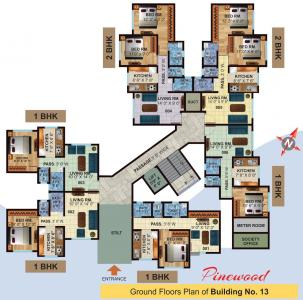 Project Image of 342.0 - 510.0 Sq.ft 1 BHK Apartment for buy in Jeevan Lifestyles