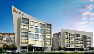 Gallery Cover Image of 700 Sq.ft 1 BHK Apartment for rent in Qualitas Gardens, Koproli for 6000