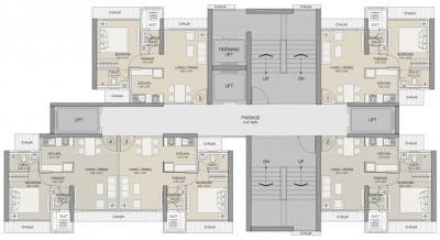 श्री रूपारेल नोवा में खरीदने के लिए 368.0 - 374.0 Sq.ft 1 BHK अपार्टमेंट प्रोजेक्ट  की तस्वीर